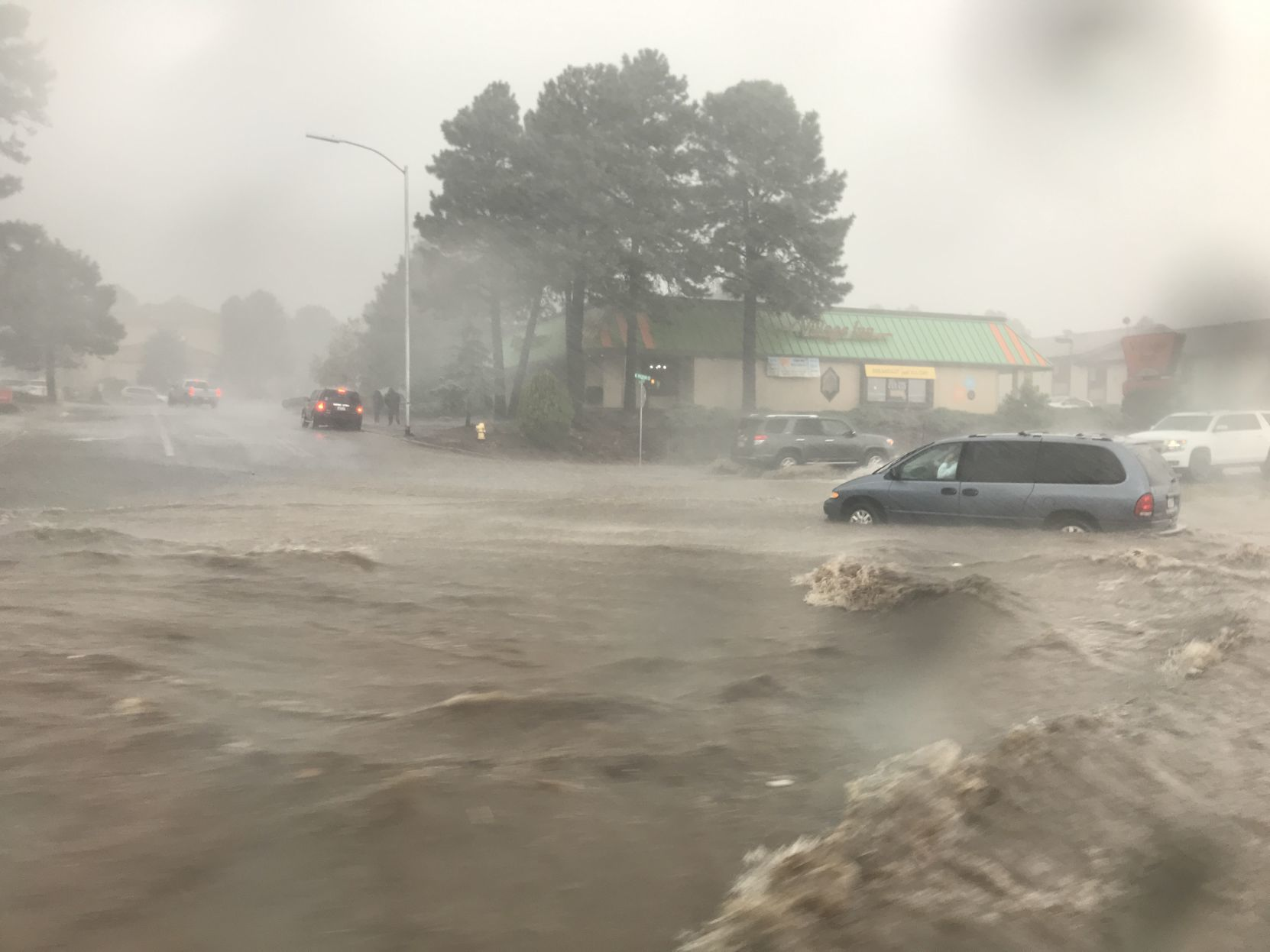 Flood in Flagstaff, AZ