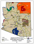 Adjudicated Watersheds with Indian Reservations