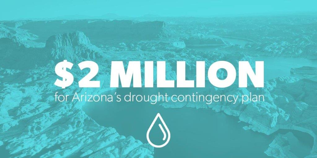 $2 Million for Arizona's drought contingency plan
