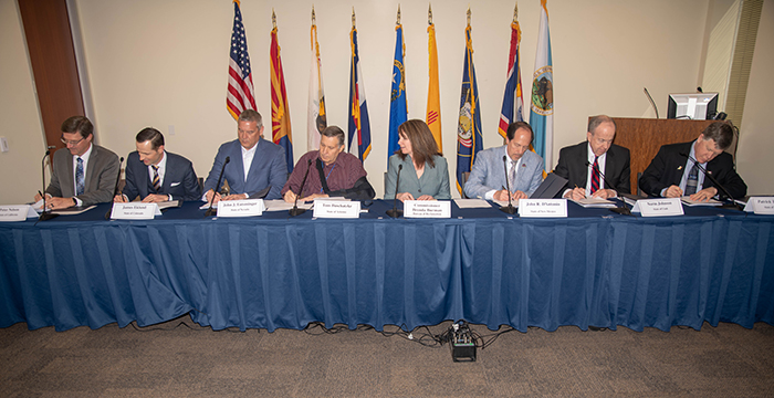 Drought Contingency Plan Signing