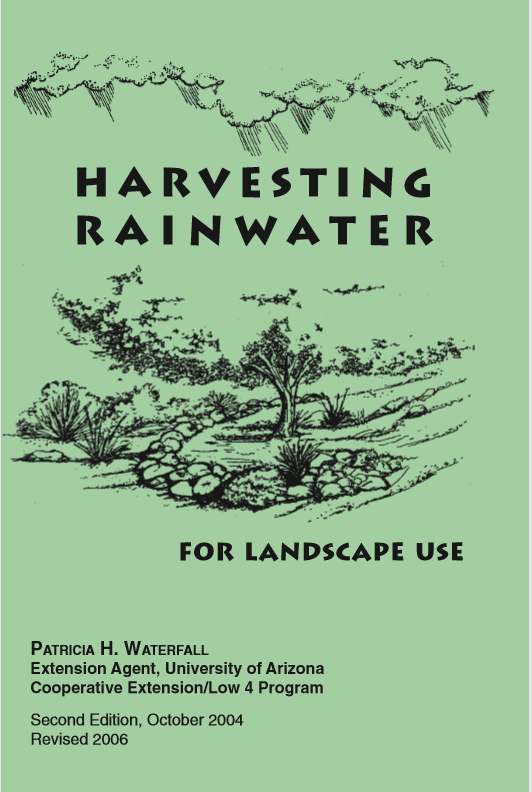 Harvesting Rainwater for Landscaping Use