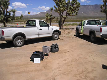 Hualapai Valley Gravity Base Station