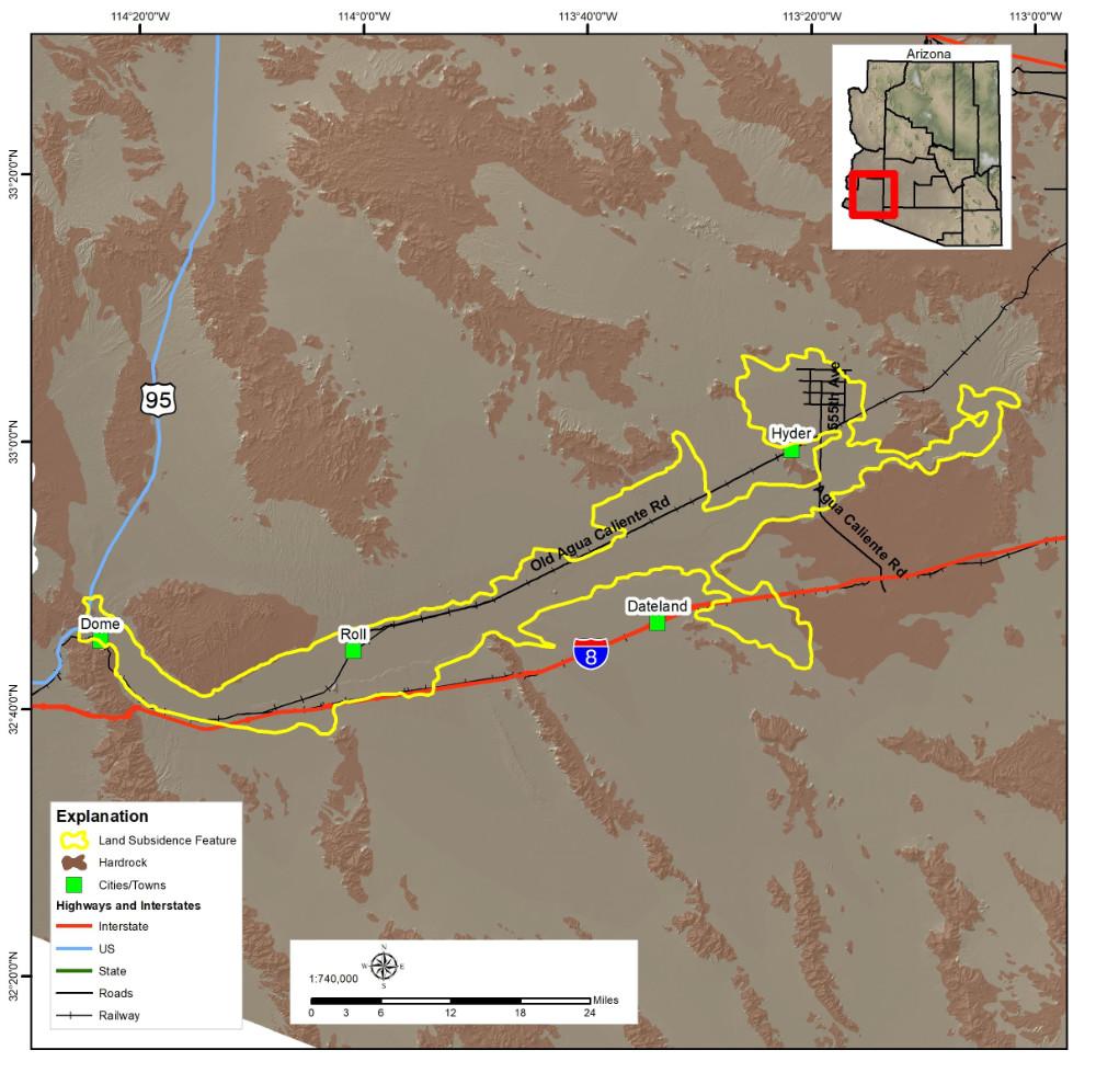 Lower Gila Subsidence Area