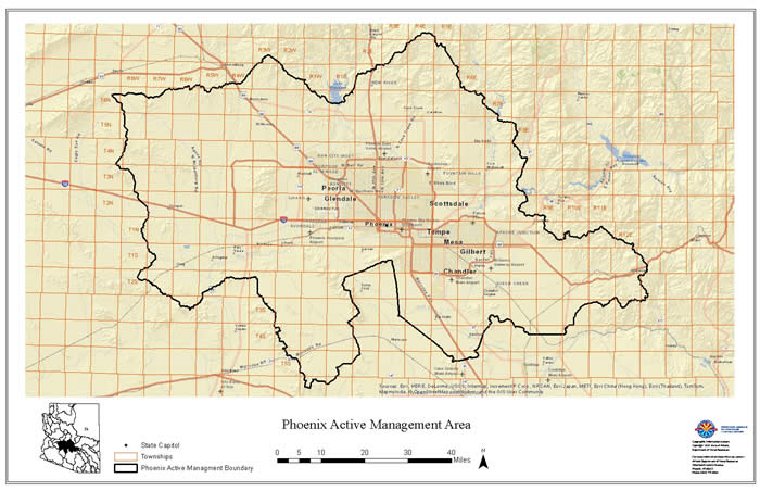Pinal County Zip Code Map.Gis Data And Maps Arizona Department Of Water Resources