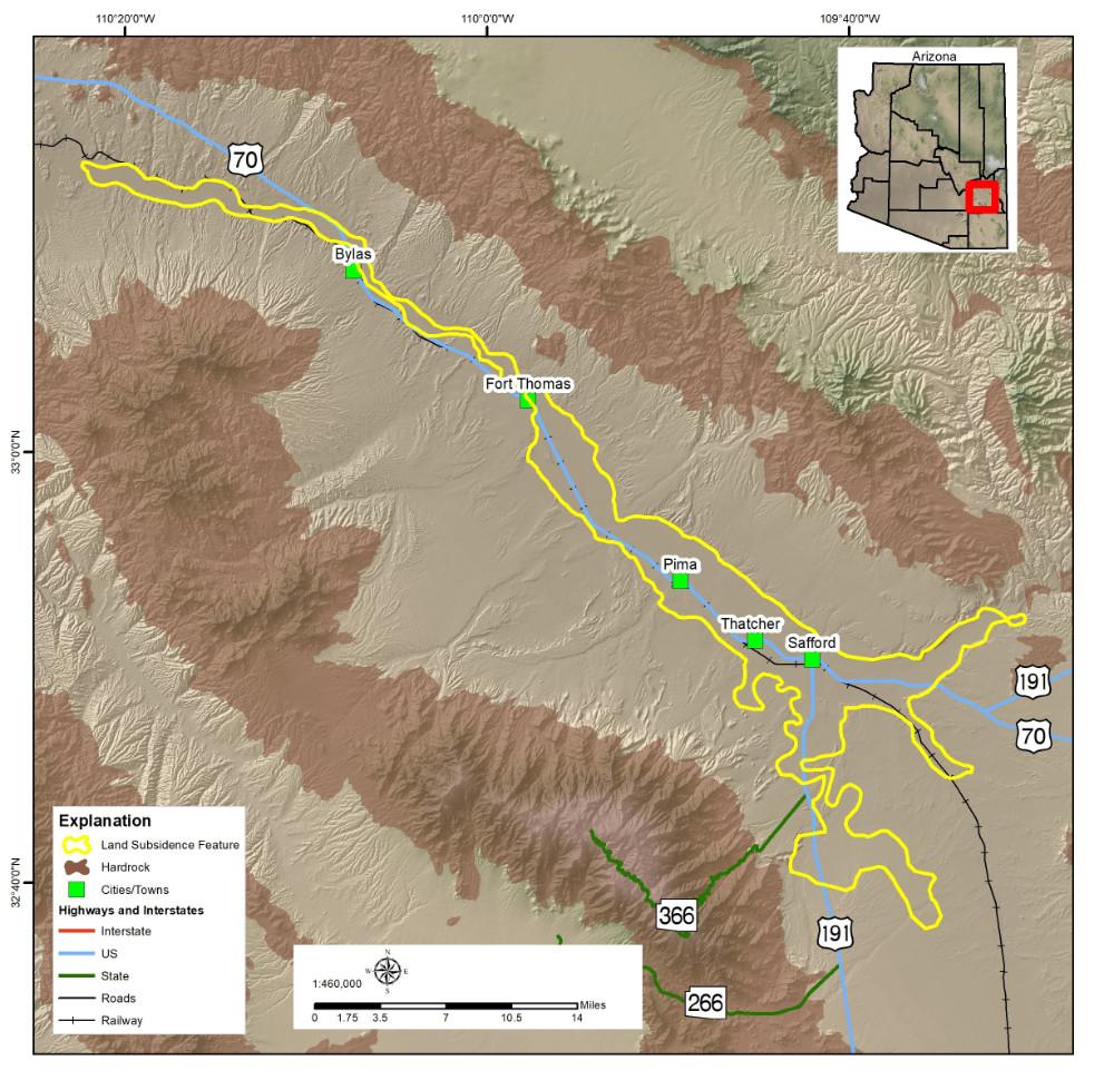 Upper Gila Subsidence Area