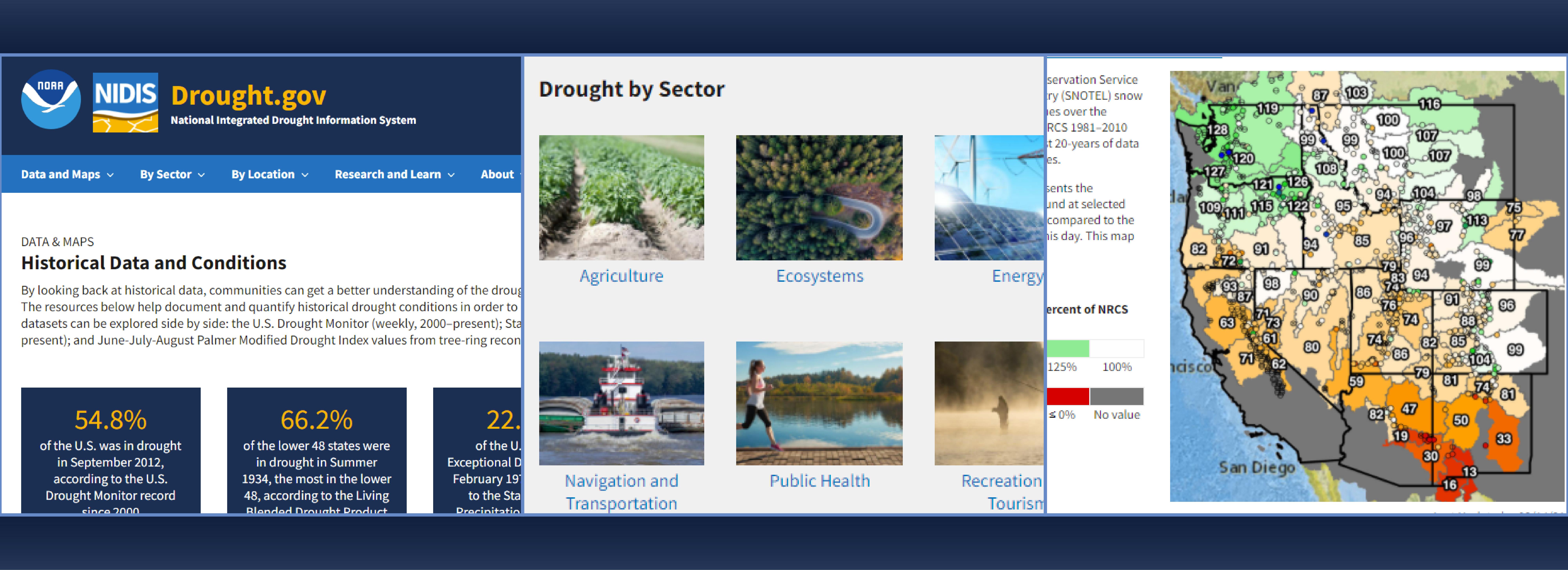 Drought.gov new website