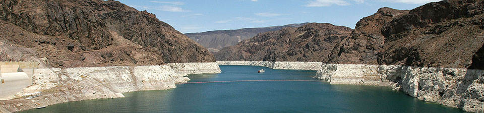 Colorado River falling levels