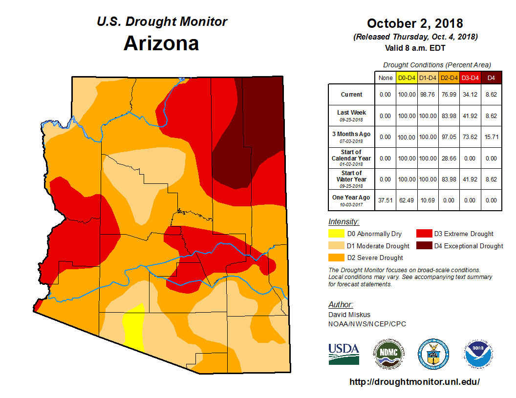 September Short-term Drought Map.png