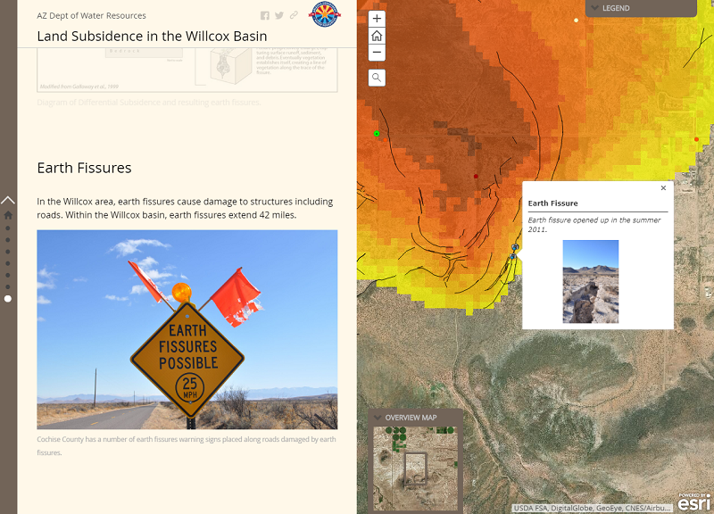 "New ADWR ""Story Map"" uses high-tech imagery to tell story of Willcox"