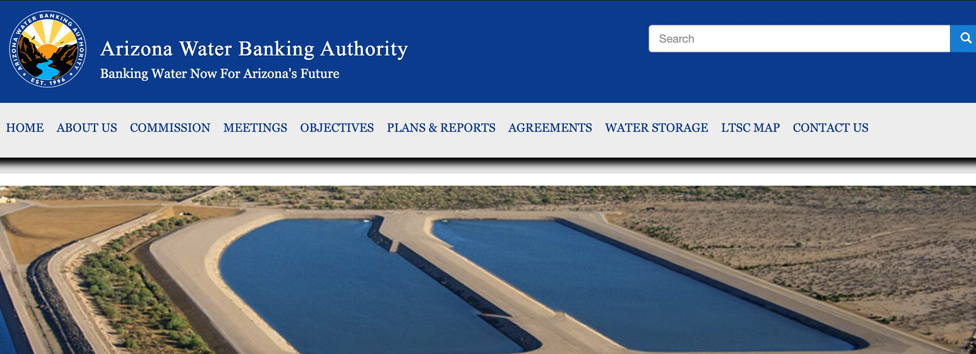 New Water Bank Website Design