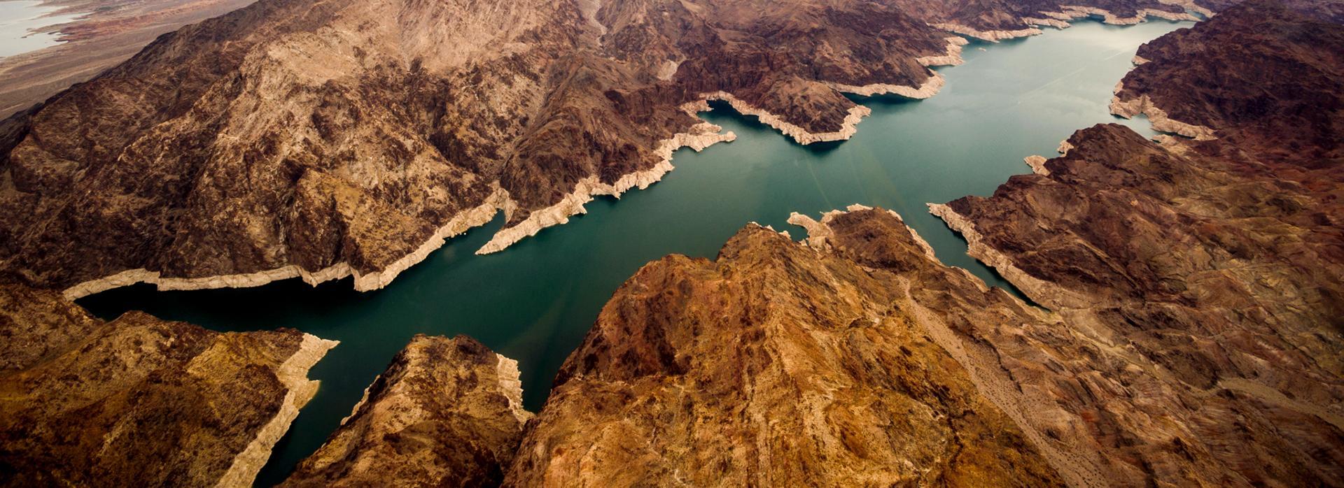 Lake Mead aerial