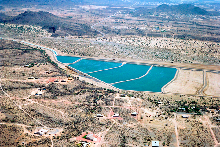 (Photo of Aqua Fria/Arizona Water Banking Authority)