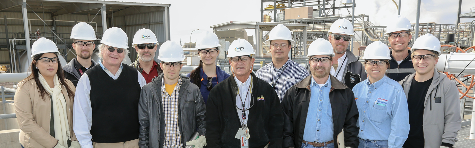 Water Resources staff tour Palo Verde Nuclear Generating Station