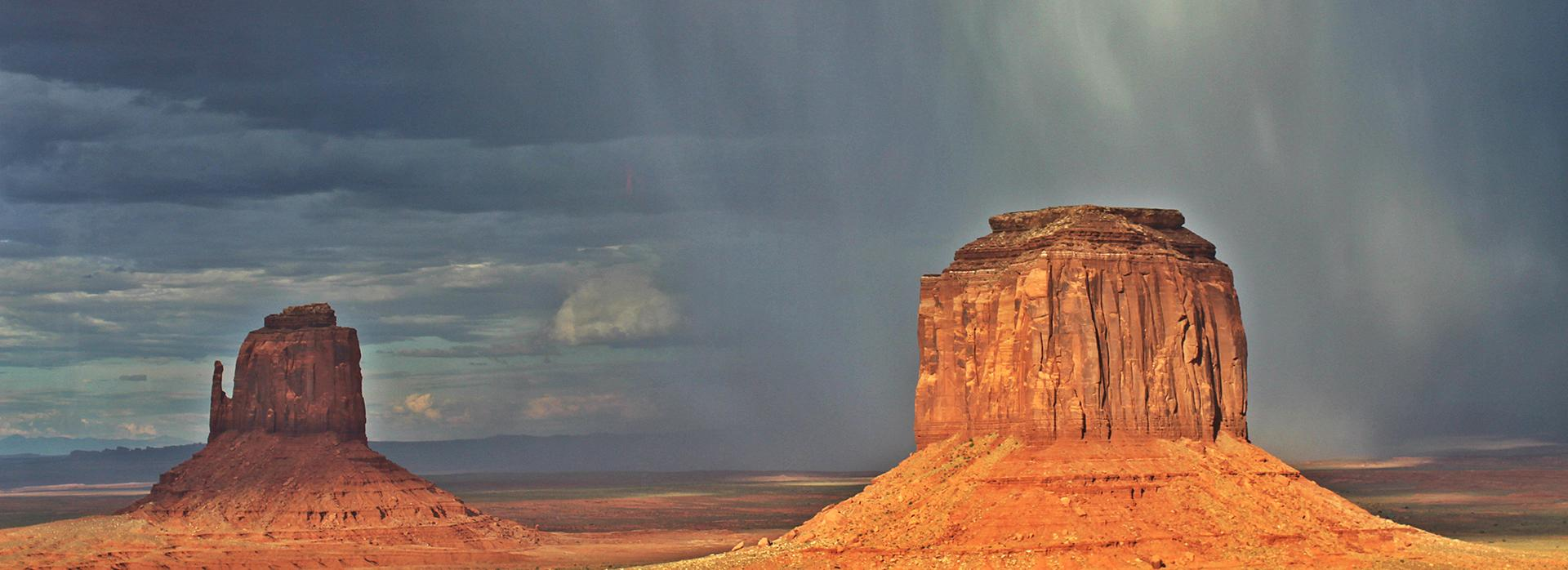 Monument Valley Climate