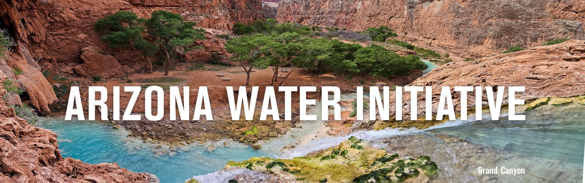 AZ Water Initiative banner image