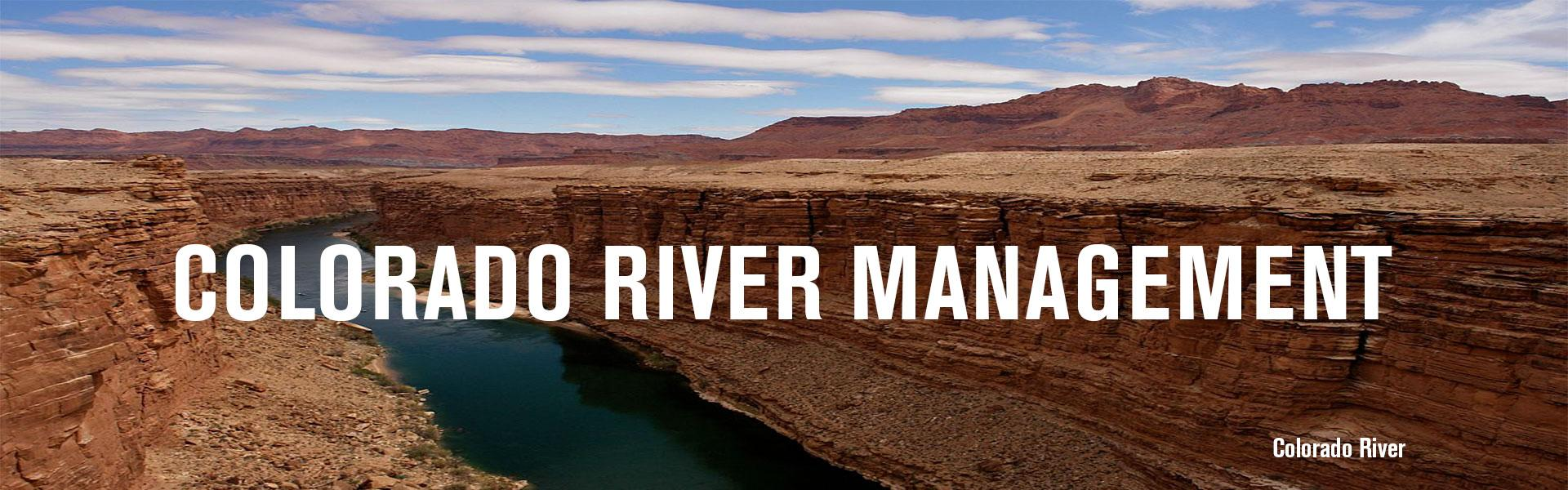 colorado river management arizona department of water resources