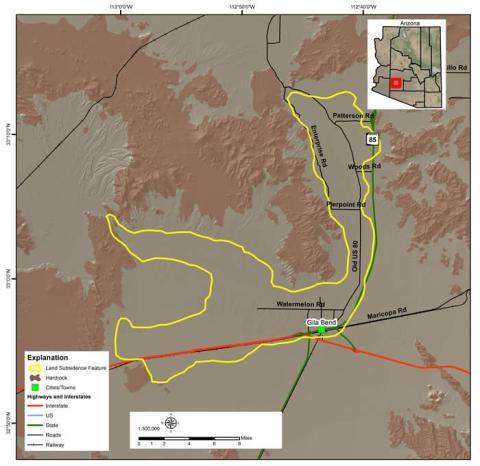Gila Bend Land Subsidence