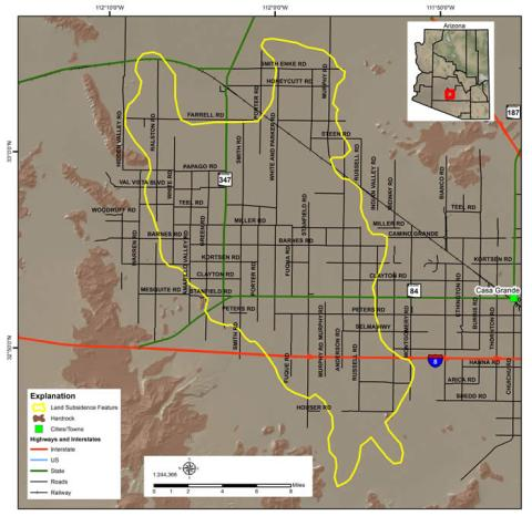 Maricopa-Stanfield Land Subsidence