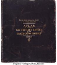 Capt. Clarence E. Dutton. Atlas to Accompany the Monograph on the Tertiary History of the Grand Cañon District.