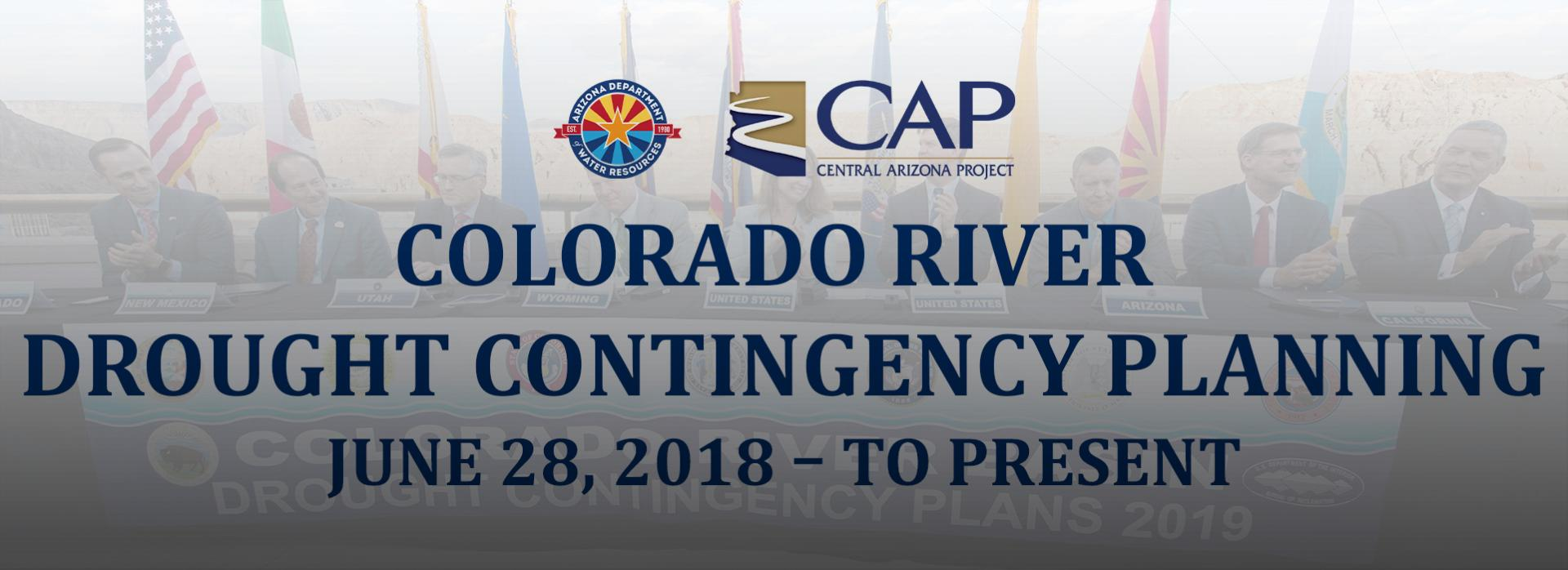 Colorado River Drought Contingency Planning